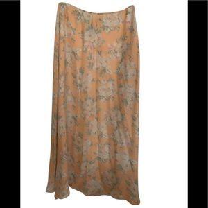 Ralph Lauren Petite size 2 maxi dress- side zip